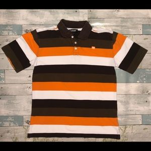 Ecko Unlimited Stripped Polo Youth Boys Size L
